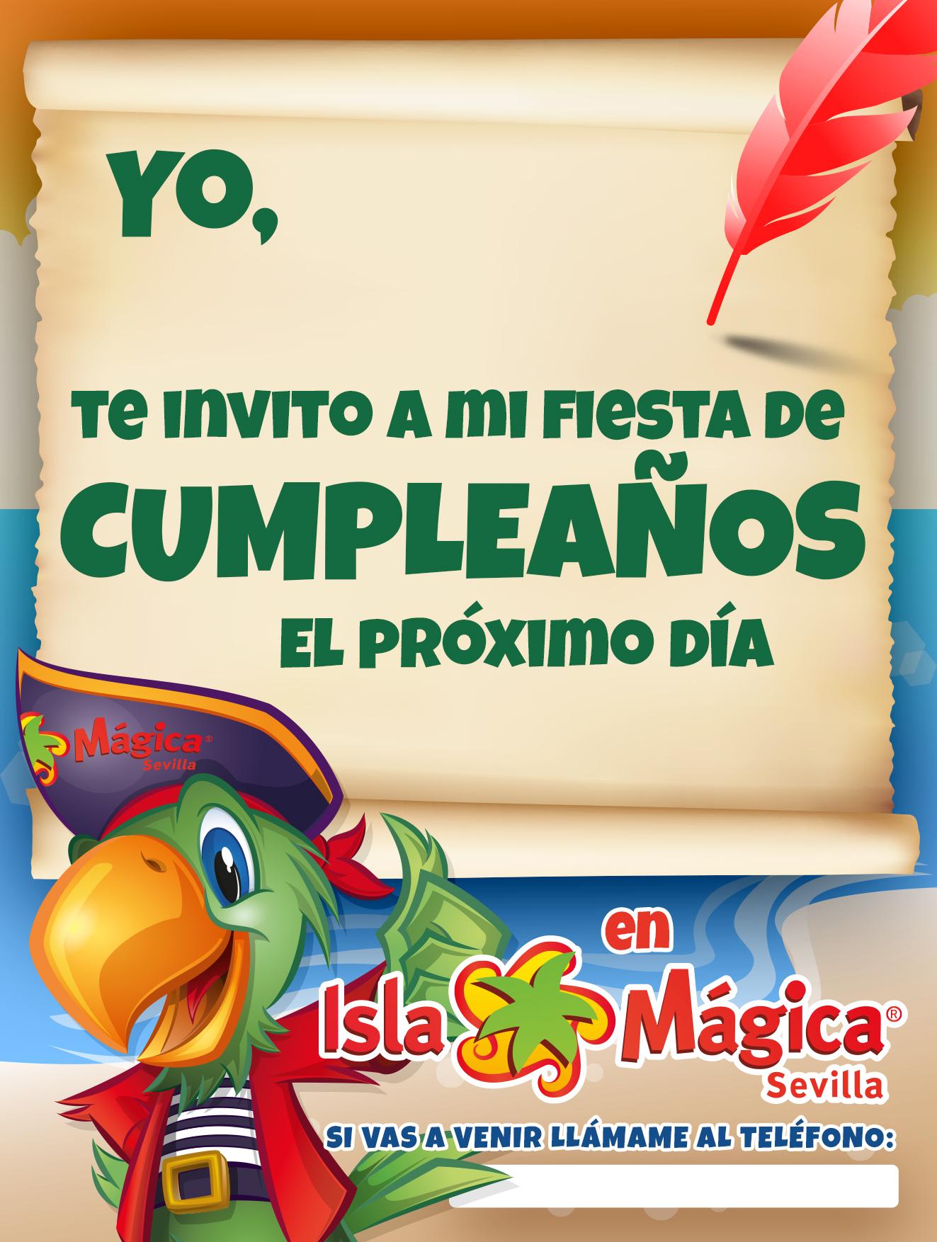 Celebrar Cumpleaños En Sevilla Parque Temático Isla Mágica