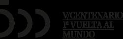 Logo del quinto centenario de la primera vuelta al mundo